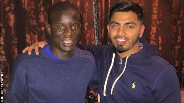 Twitter user @jahrul999 spent around two hours with the France midfielder