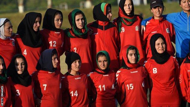 Afghanistan women's football team