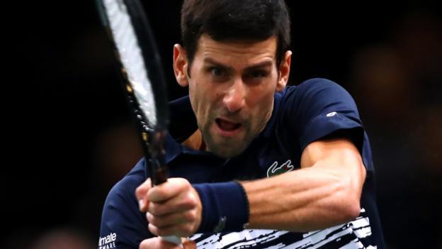 Novak Djokovic beats Denis Shapovalov to win fifth Paris Masters title thumbnail
