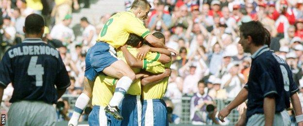 Scotland were last at a major finals in 1998, where they met Brazil in the World Cup opener