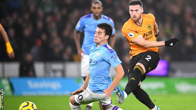Wolves 3-2 Man City