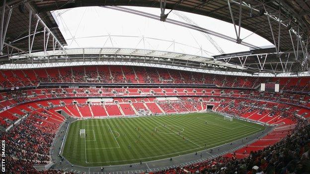 Wembley Stadium cost £757m and opened in 2007