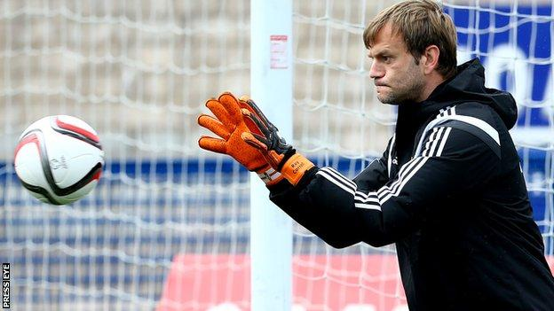 Roy Carroll's former clubs include Hull City, Wigan Athletic and Odense BK