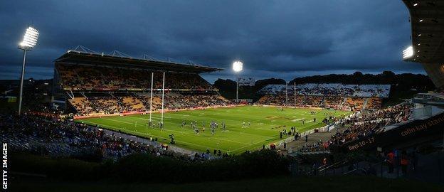 Mount Smart Stadium in Auckland