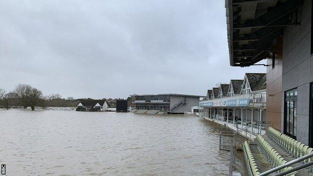 Worcestershire's New Road home spent over 60 days under water this winter