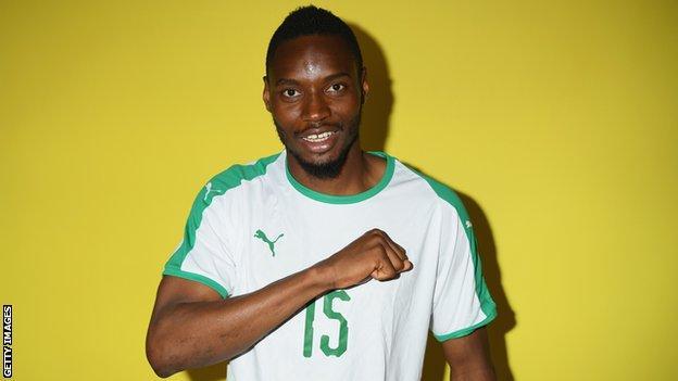 Senegal striker Diafra Sakho