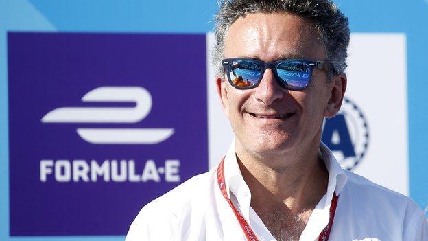Formula E founder Alejandro Agag