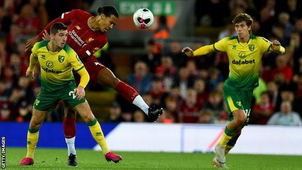 El Liverpool venció al Norwich en la jornada inaugural hace dos temporadas