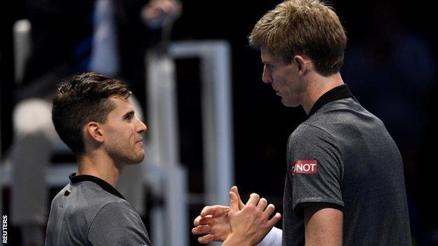 Kevin Anderson and Dominic Thiem