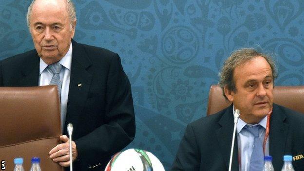 Michel Platini voted for Qatar 2022