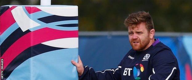 Scotland hooker Kevin Bryce