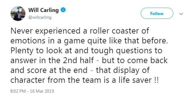 Will Carling Tweets