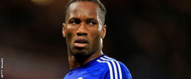 Former Chelsea striker Didier Drogba