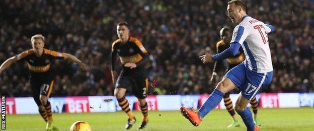 Glenn Murray puts Brighton ahead