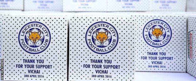 Leicester City doughnuts