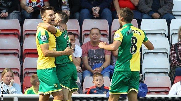 Norwich Sunderland