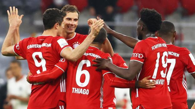 Bayern Munich beat Frankfurt to reach German Cup final thumbnail