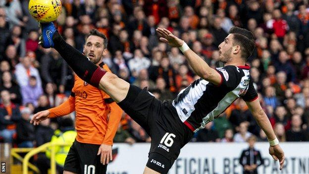 Mihai Popescu played 22 times for St Mirren in the opening months of 2019