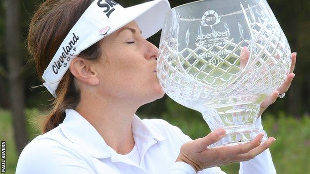 Rebecca Artis claimed the Scottish Ladies Open