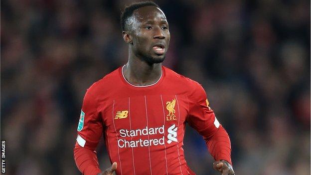Liverpool and Guinea's Naby Keita