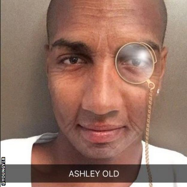 Ashley Young Twitter