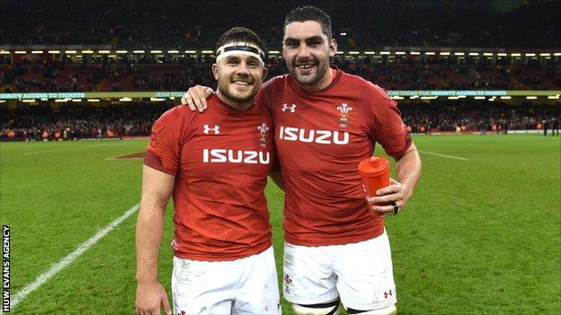 Ellis Jenkins and Cory Hill