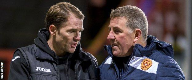 Mark McGhee (right) and Alan Archibald