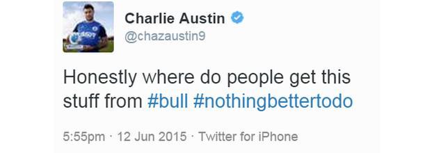 Charlie Austin on Twitter