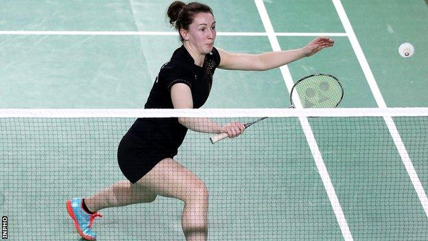 Chloe Magee won a mixed doubles bronze with brother Sam at the inaugural European Games in 2015