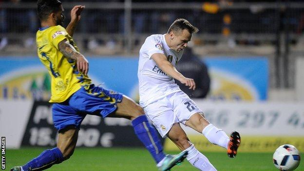 Real Madrid's Denis Cheryshev