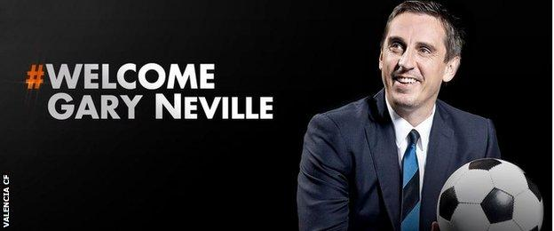 Valencia tweeted this official welcome