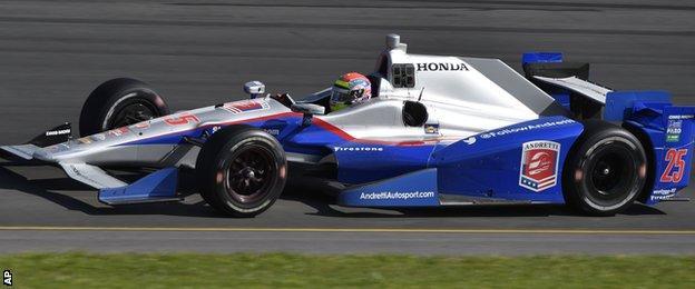 Former IndyCar driver Justin Wilson