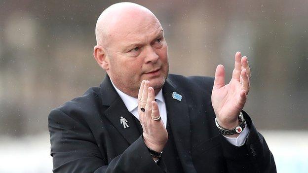 David Jeffrey succeeded Glenn Ferguson as Sky Blues manager in May 2016