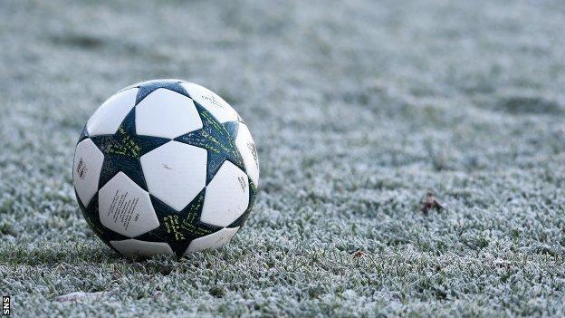 Ball on ice