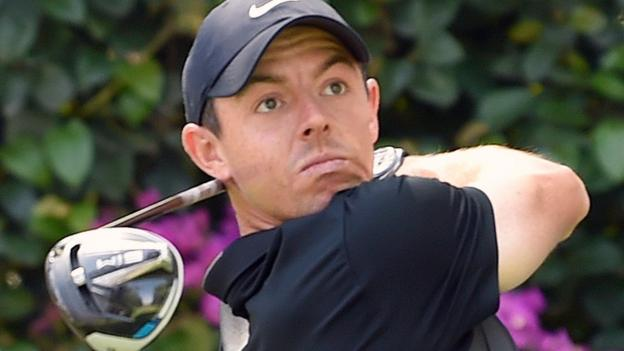 WGC-Mexico Championship: World number one Rory McIlroy takes two-shot first-round lead