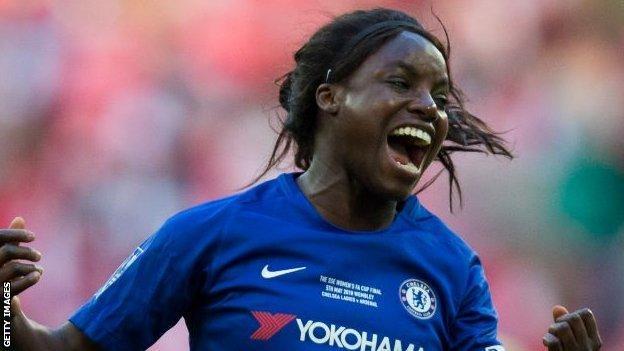 Former Chelsea forward Eniola Aluko