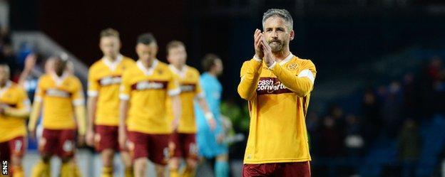 Motherwell escaped relegation after beating Rangers in the Premiership playoff last season