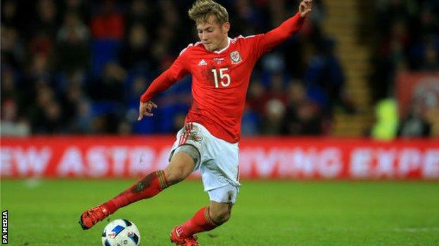 George Williams made his Wales debut in 2014 and has seven senior caps