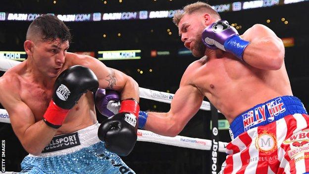 Billy Joe Saunders admitted he struggled against Coceres