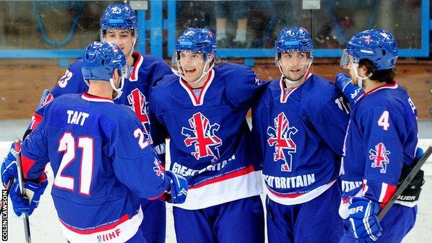 GB men's ice hockey team