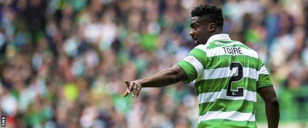 Celtic assistant Kolo Toure