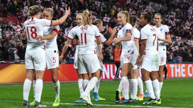 England women's football: Olympics talk banned at SheBelieves Cup thumbnail