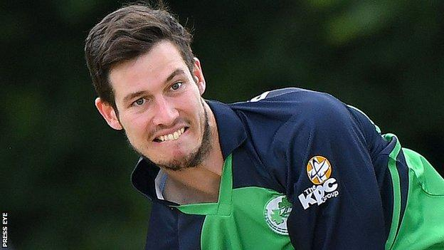 George Dockrell was released by Somerset in 2015