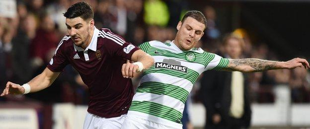Callum Paterson and Anthony Stokes