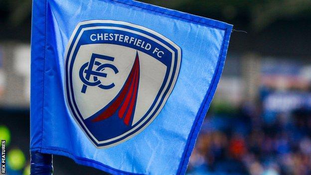Chesterfield corner flag