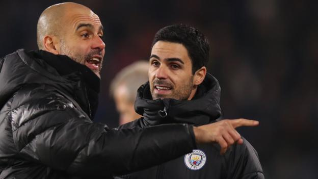 Man City manager expects 'quick' decision on Mikel Arteta after holding Arsenal talks