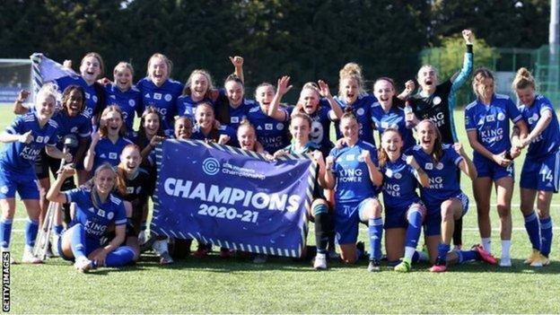 Libby Smith ayudó al Leicester City a ganar el Campeonato Femenino la temporada pasada