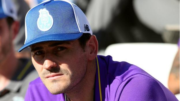 Iker Casillas given coaching role at Porto two months after having heart attack thumbnail