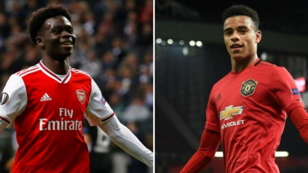 Mason Greenwood and Bukayo Saka: Who are the teens scoring for Man Utd and Arsenal? thumbnail