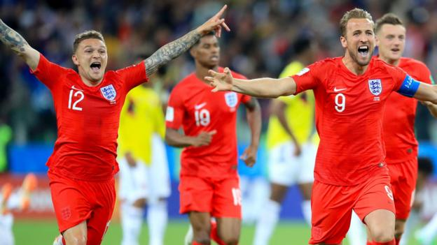 World Cup 2018: England beat Colombia 4-3 on penalties